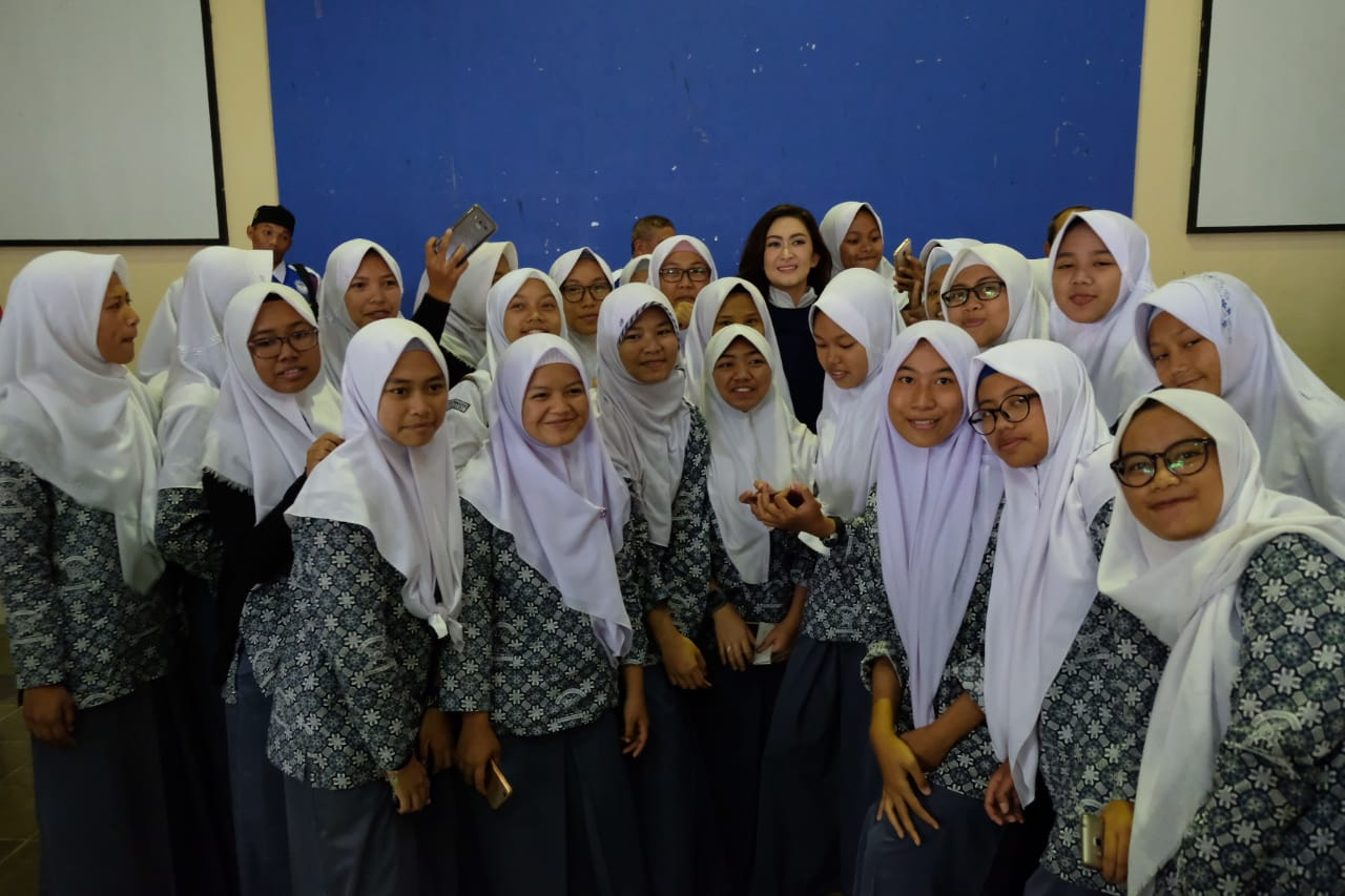 Nafa Urbach Kampanyekan Anti-Bullying